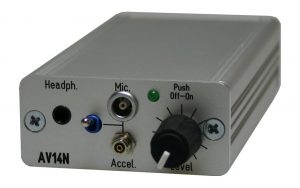 AV14 Abhörverstärker, ohne Filterfunktion