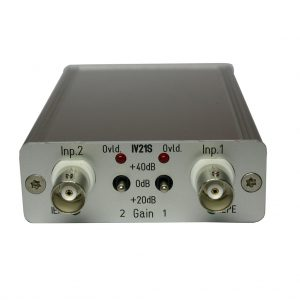 IVxx Current Constant Power Supply for IEPE Sensors or IEPE Microphones