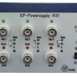 IV31 3-Kanal IEPE-Speisegerät mit Verstärkung, Batteriebetrieben
