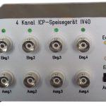 IV40 4-Kanal IEPE-Speisegerät, Batteriebetrieben
