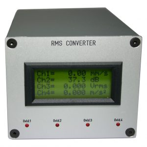 RMS Konverter mit LCD-Display